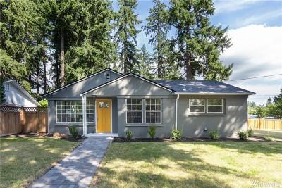 Shoreline Single Family Home For Sale: 16702 Fremont Ave N
