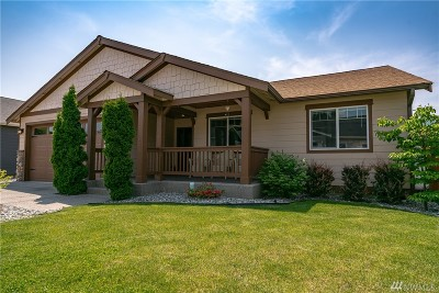 Chelan County Single Family Home Contingent: 393 Ridgewood Dr
