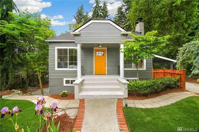 Shoreline Single Family Home For Sale: 2125 N 161st Place