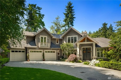 Mercer Island Single Family Home For Sale: 9215 SE 33rd St