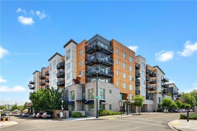 Burien Condo/Townhouse For Sale: 15100 6th Ave SW #726