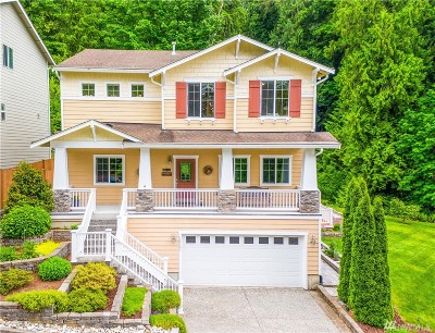 Bothell Condo/Townhouse For Sale: 12121 NE 203rd St