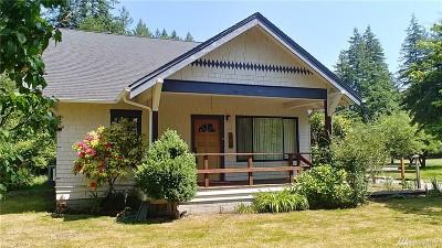 Oakville Single Family Home For Sale: 615 E Blockhouse Rd