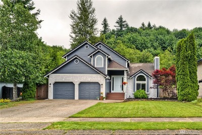 Tumwater Single Family Home Pending: 3144 Woodland Dr SW