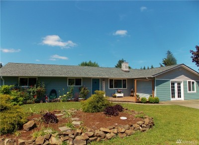 Centralia Single Family Home For Sale: 3505 Rodcin Ave