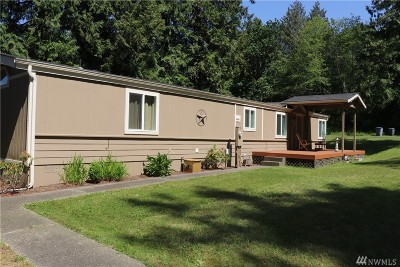 Shelton Single Family Home For Sale: 81 E Cedar Grove Lane