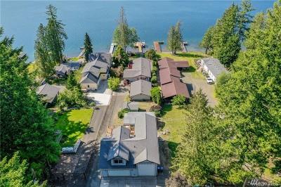 Grapeview Single Family Home For Sale: 1591 E Mason Lake Dr E