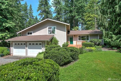 Woodinville Single Family Home For Sale: 17521 156th Place NE