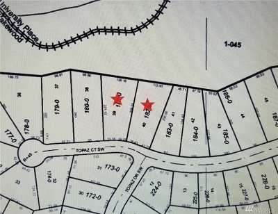 Lakewood Residential Lots & Land For Sale: 7201 Topaz Ct SW
