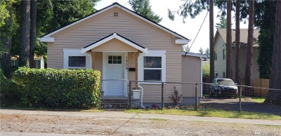 Olympia Single Family Home For Sale: 1209 San Francisco Ave NE