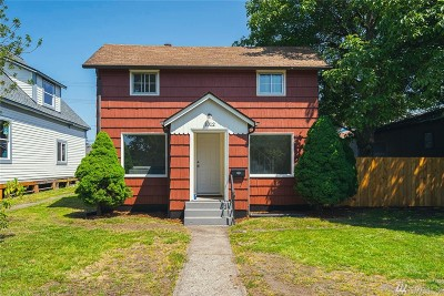 Centralia Single Family Home For Sale: 1012 N Pearl St