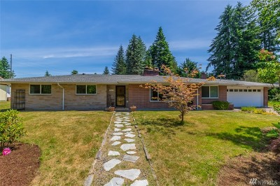 Olympia Single Family Home For Sale: 4912 Laura St SE