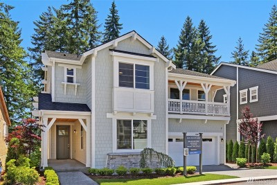 Kirkland Single Family Home For Sale: 11027 86th Ave NE #1