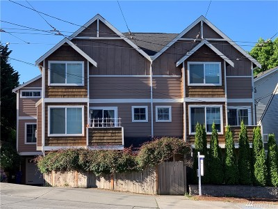 Seattle Single Family Home For Sale: 411 NW Market St #B