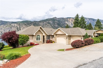 Chelan County Single Family Home For Sale: 2901 Lakeshore Dr