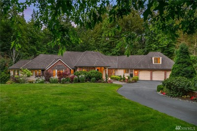 Woodinville Single Family Home For Sale: 12618 198th Dr NE
