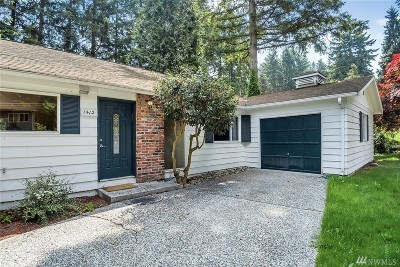 Bellevue Single Family Home For Sale: 1412 151st Ave SE