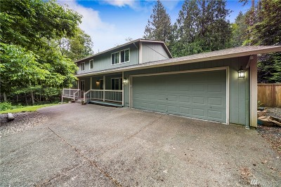 Olympia Single Family Home For Sale: 8135 Ellison Lp NW