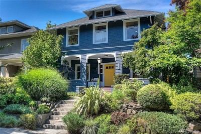 Seattle Single Family Home For Sale: 1211 20th Ave E