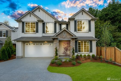 Kirkland Single Family Home For Sale: 12819 94th Lane NE
