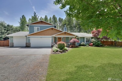 Graham Single Family Home For Sale: 11904 215th St E