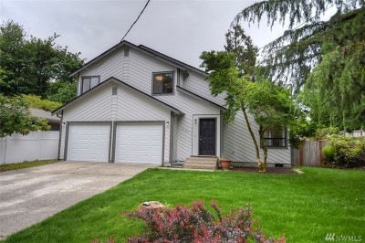 Olympia Single Family Home For Sale: 2124 Boundary St SE