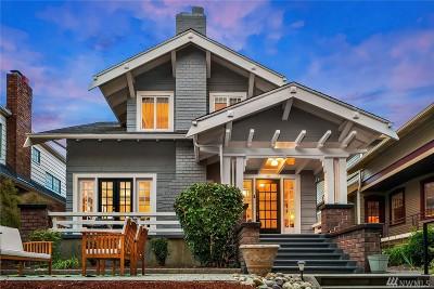 Seattle Single Family Home For Sale: 365 Wheeler St