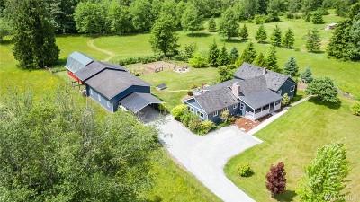 Sedro Woolley Single Family Home Pending: 22606 Grip Rd