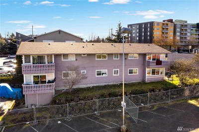 Seattle Multi Family Home For Sale: 4725 38th Ave S #1-4