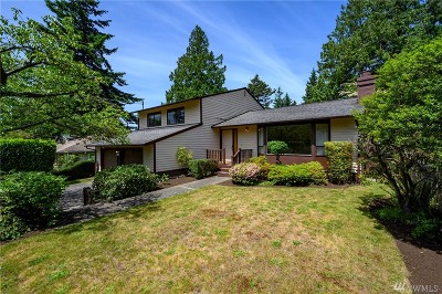 Seattle Single Family Home For Sale: 3814 NE 87th Street