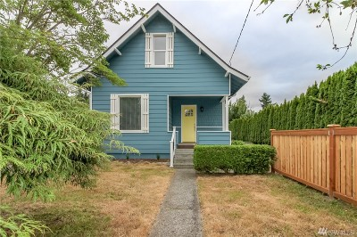 Puyallup Single Family Home For Sale: 625 17th St SE