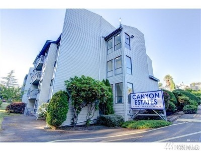 Tukwila Condo/Townhouse For Sale: 15154 65th Ave S #912