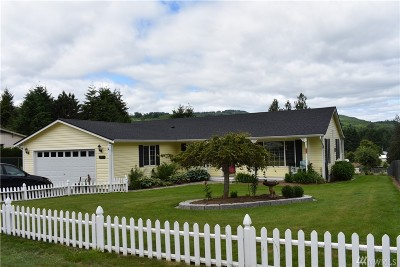 Lewis County Single Family Home For Sale: 1017 F St