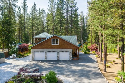 Chelan County Single Family Home For Sale: 21213 Stetson Rd