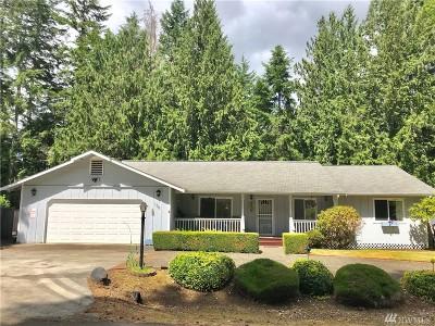Mason County Single Family Home Pending Inspection: 100 SE Fuchsia Ave