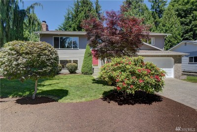 Redmond Single Family Home For Sale: 16408 NE 107th Place