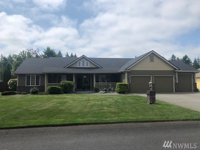 Spanaway Single Family Home For Sale: 6810 227th St E
