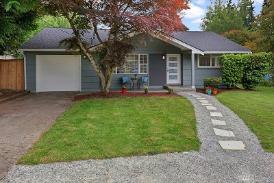 Shoreline Single Family Home For Sale: 1205 N 173rd St