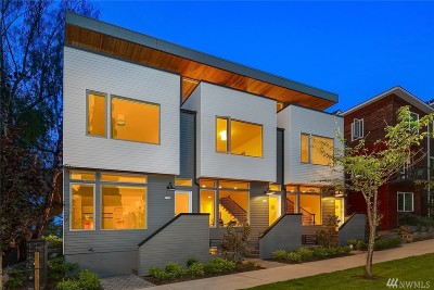 Seattle Single Family Home For Sale: 1532 15th Ave E