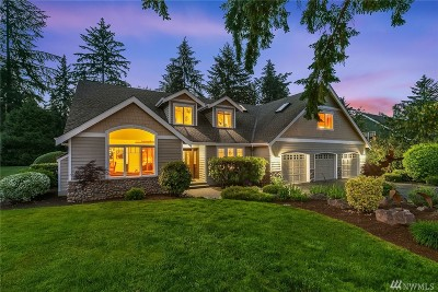 Woodinville Single Family Home For Sale: 19722 166th Ave NE