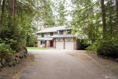 Gig Harbor Single Family Home For Sale: 4306 Madrona Lane NW