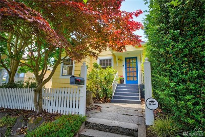 Seattle Single Family Home For Sale: 6729 9th Ave NW