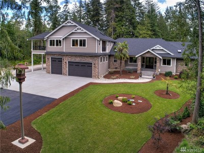 Snohomish Single Family Home For Sale: 22033 Echo Lake Rd