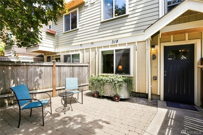 Seattle, Bellevue, Kenmore, Kirkland, Bothell Single Family Home For Sale: 318 25th Ave S #B