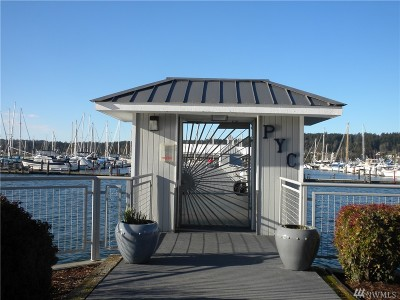 Poulsbo Condo/Townhouse For Sale: 18129 Fjord Dr NE #D-23