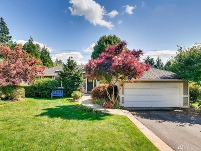 Bellevue Single Family Home For Sale: 9319 Sunset Wy