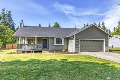 Yelm Single Family Home Pending: 17628 154th Ave SE