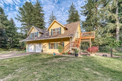 Port Orchard Single Family Home For Sale: 3929 SW Huckleberry Rd