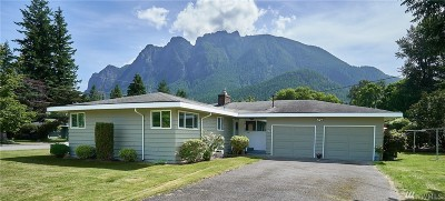 North Bend WA Single Family Home For Sale: $530,000