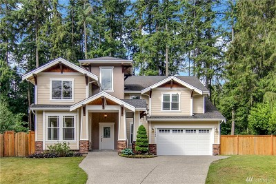 Woodinville Single Family Home For Sale: 22926 105th Ave SE